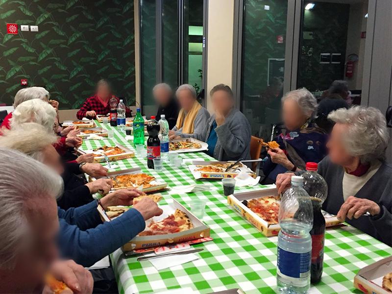 Pizzate in compagnia
